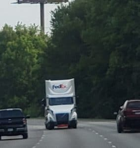 The things you see when on the road.