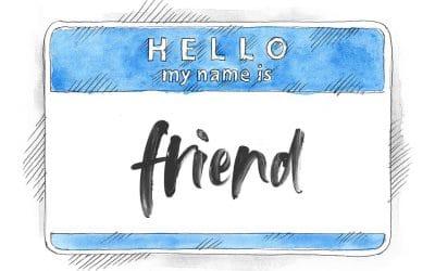 "Call me ""friend"""