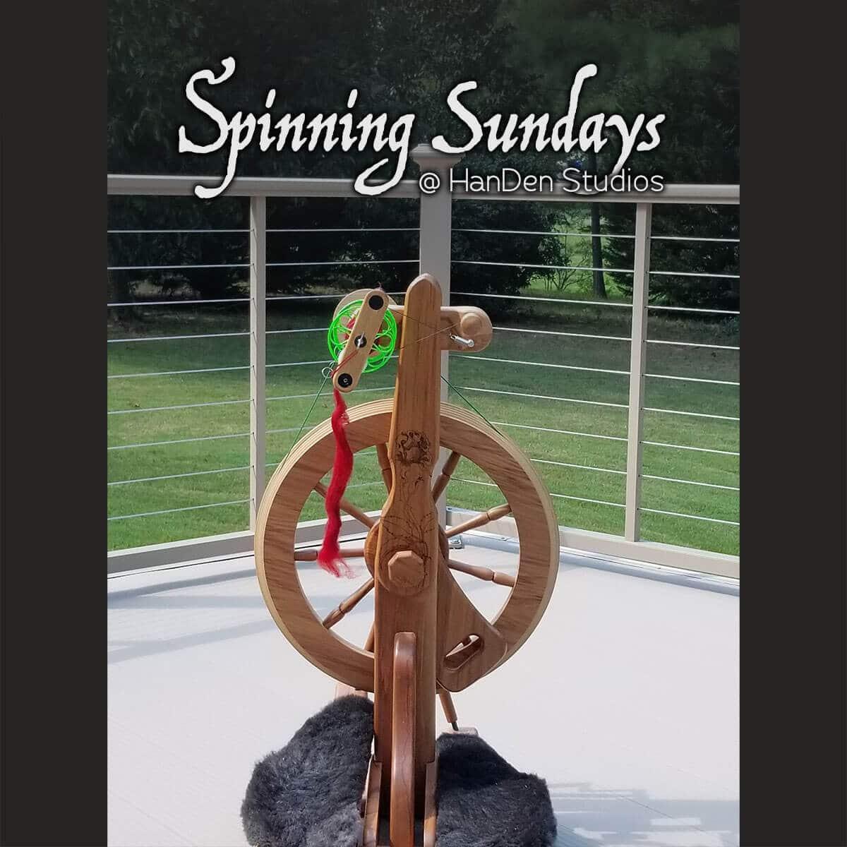 Spinning Sundays @ HanDen Studios