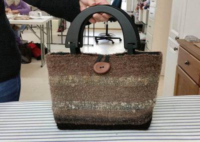 Janelle's SAORI bag