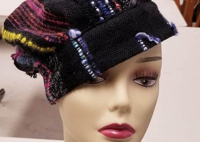 Fun and Funky Hat in Black